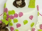 primo compleanno agnese!!! first birthday!!! teddy bear cake!!