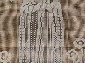 Schemi filet: Quadro della Madonna Lourdes