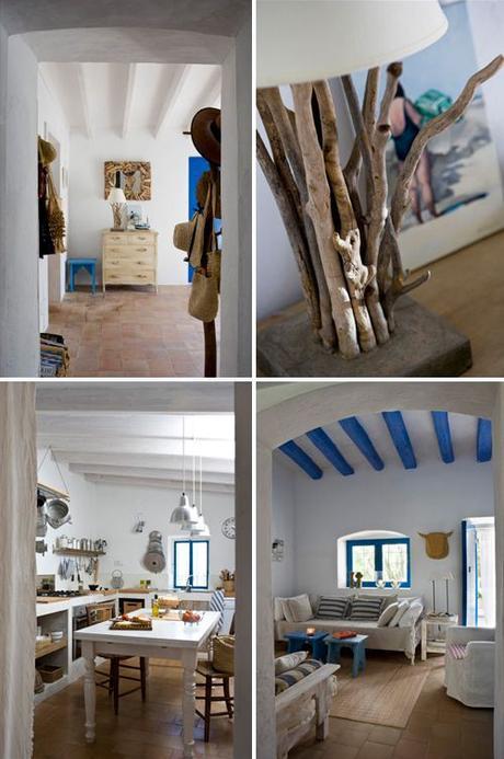 Arredare una casa al mare in stile shabby chic paperblog for Idee arredamento casa al mare