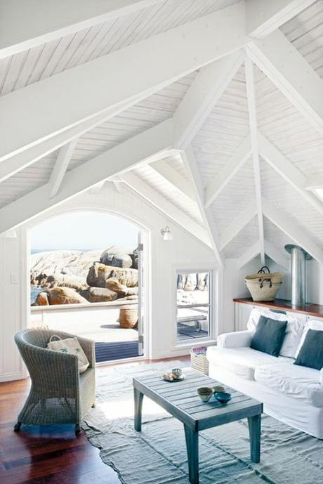 Arredare una casa al mare in stile shabby chic paperblog - Affittare una casa al mare ...