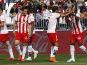 Liga, colpo Almeria; pari inutile Malaga Deportivo
