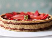 Crostata Fragole Mousse cioccolato