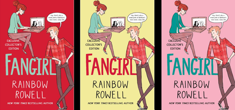 On my shelf: Fangirl