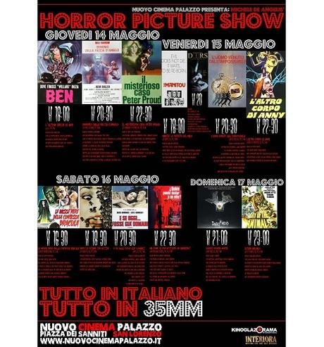 Eventi - Michele De Angelis' Horror Picture Show