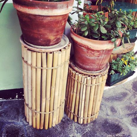 Riciclo creativo utilizzare canne di bamb per il vostro for Canne di bambu per arredamento
