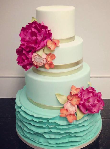 Ombre Wedding Cake, scelta di stile