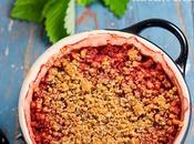 Crumble fragole vegan