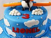 Disney Planes cake: torta decorata Dusty pasta zucchero