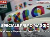 Primo Maggio, palinsesto SkyTG24 Expo 2015 Festa Lavoratori