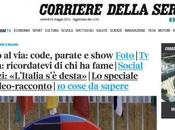 """Quello renzismo dice (104) Requiem Primo Maggio """"l'Italia desta"""". imperat passaggio Corriere alla """"sinistra"""" tipo renziano."""