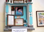 """L'edicola votiva """"sua santità"""" Maradona leggenda capello venerato Centro Storico"""