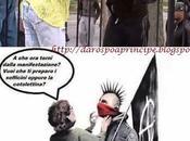 Pacifica guerriglia Milano: fumo fumetti.