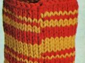 Scuola maglia: Come lavora tondo punti fantasia