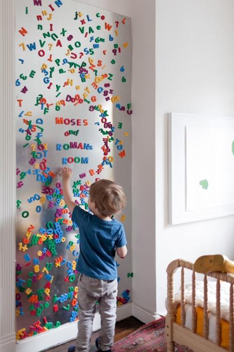 Famoso 10 idee per decorare le pareti delle camerette dei bambini * 10  CB54