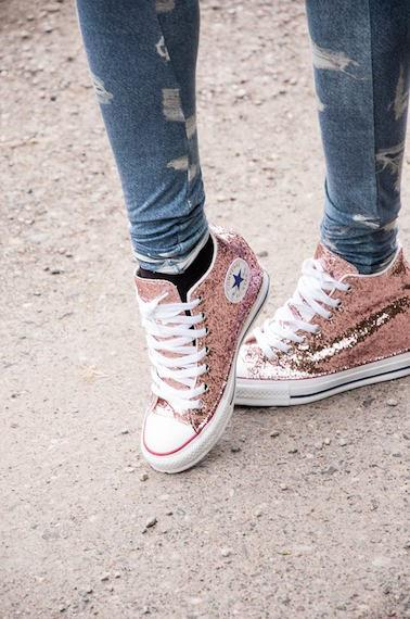 all star converse con zeppa interna