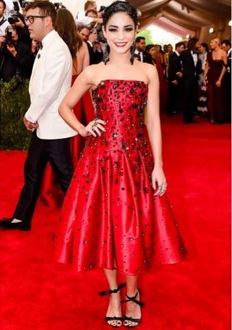 H&M guest at The Met Gala.
