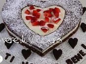 Tutorial dolcidee.it: torta cioccolato fragole forma cuore festa della MAMMA