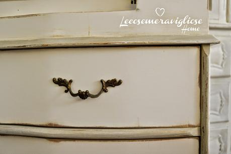 # Shabby # French # Chic # Arredamento # Secreter # White & Grey #