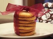 Biscotti sablés allo zenzero candito Candied Ginger Cookies