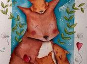 Illustrazione festa della mamma...come usare pastelli morbidi