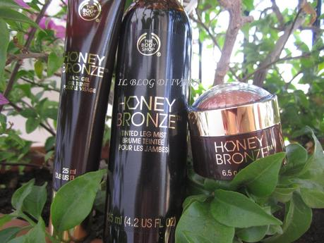 The Boby Shop: Linea HONEY BRONZE (Presentazione)