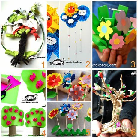 Lavoretti creativi per bambini con materiali riciclati for Lavori creativi da casa