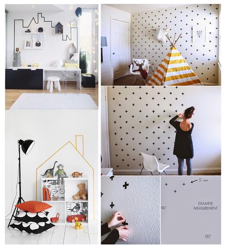 Idee per una cameretta fai da te paperblog - Idee per pitturare una cameretta ...