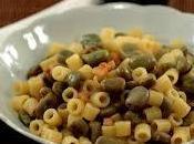 Pasta fave pancetta