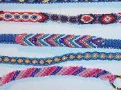 tecnica rendere rigidi bracciali friendship bracelets