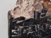 Archeologia. tavoletta cuneiforme 1350 a.C. scoperta Gerusalemme