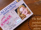 BALM autobalm CALIFORNIA palette