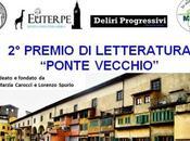 """Premio Letteratura """"Ponte Vecchio"""" bando partecipazione"""