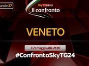 Stasera diretta #ConfrontoSkyTG24 della Regione Veneto
