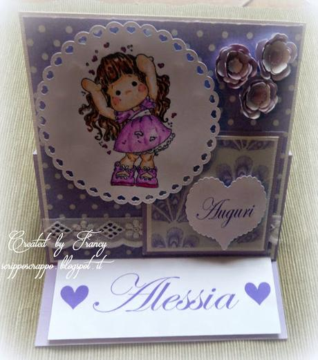 EASEL CARD PER BATTESIMO
