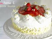 Torta Fragole, Panna Cioccolato Bianco