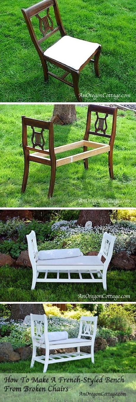 Idee fai da te per arredare il giardino paperblog for Idee arredamento soggiorno fai da te