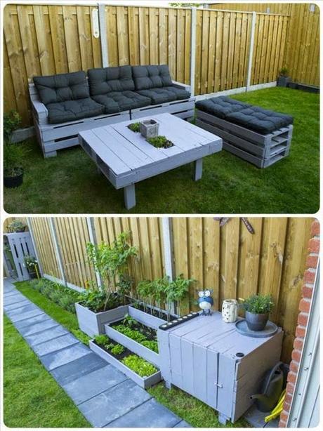 Idee fai da te per arredare il giardino paperblog - Mobili da giardino low cost ...