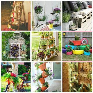 Idee fai da te per arredare il giardino paperblog for Oggetti fai da te per arredare casa