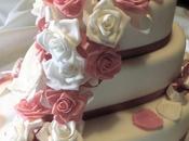 Torta cuore rose!!! matrimonio rosa!!