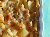 Pasta patate gratinata forno
