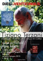 nuovo appuntamento parlare Tiziano Terzani, Àlen Loreti, biografo. Bologna giugno alle 18,30 Cafè Paix