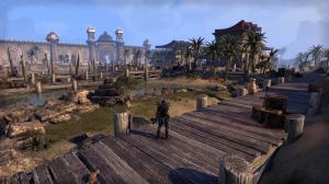 The Elder Scrolls Online: Tamriel Unlimited presenta ambientazioni ricche e paesaggi ispirati, sebbene talvolta un po' ripetitivi.