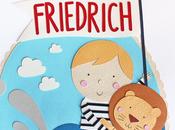 Paper Illustration baby Friedrich