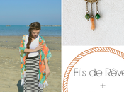 PetiteFraise Fils Rêves: style tips part Boho kimono Crescent Moon necklace