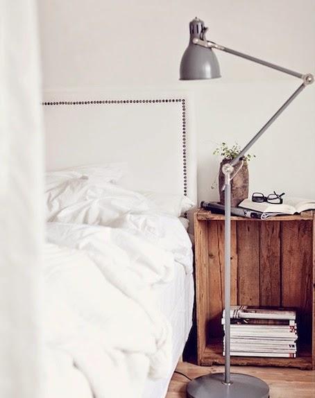 Idee fai da te per la camera da letto - I comodini - Paperblog