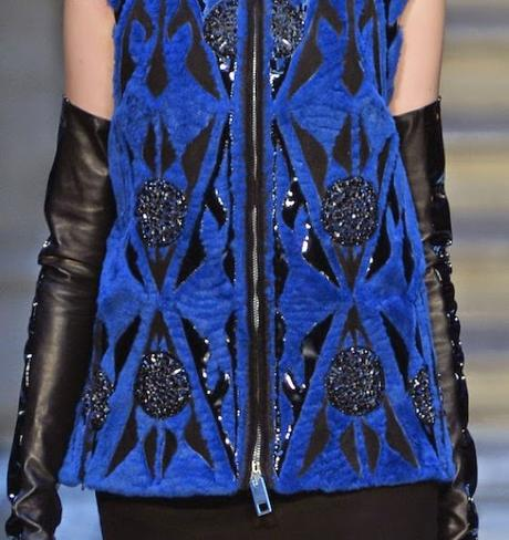 STAMPE, PATTERNS, TEXTURES E SUPERFICI TESSILI DALLA LONDON FASHION WEEK (WOMENSWEAR F/W 2015-16) / 10