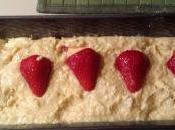 Cake Cocco fragole: bimba soddisfatta!