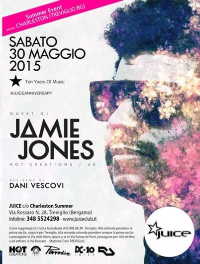 30/05 Jamie Jones @ Charleston Summer Club Treviglio (BG)