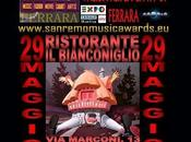 Sanremo Music Awards Ferrara, venerdi' maggio 2015.