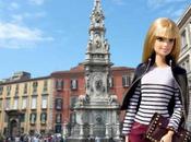 Barbie PAN. bionda famosa sempre arriva Napoli